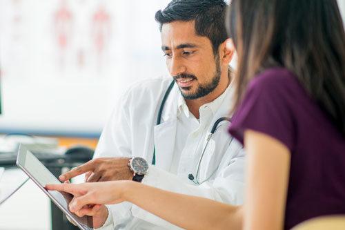 Beratung zu den Möglichkeiten Ihrer Krankenkassen
